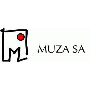 Znalezione obrazy dla zapytania muza sa logo