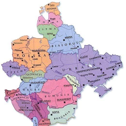 Jak Rosja Podzielila Europe Srodkowo Wschodnia M Money Pl
