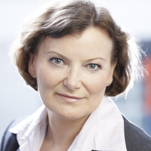 Krystyna Poszepczyńska - dyrektor oddziału banku, Bank BGŻ ...